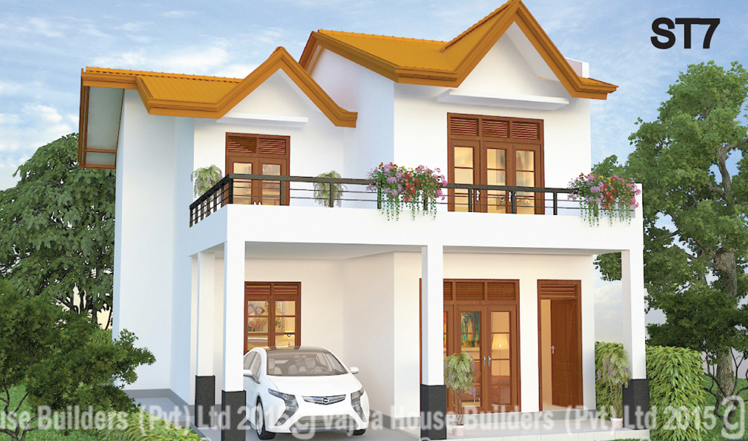 St 7 vajira house builders private limited best for Home design in sri lanka